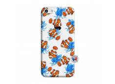 Coque iPhone 5C Poisson Clown