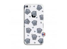 Coque iPhone 5C Petits Elephants