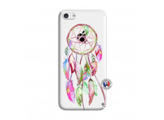 Coque iPhone 5C Pink Painted Dreamcatcher
