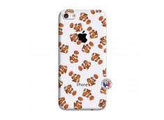 Coque iPhone 5C Petits Poissons Clown