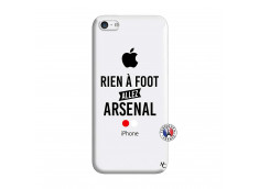 Coque iPhone 5C Rien A Foot Allez Arsenal