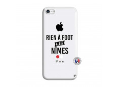 Coque iPhone 5C Rien A Foot Allez Nimes