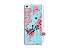 Coque iPhone 5C Wanderlust Translu