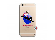 Coque iPhone 6 Plus/6s Plus Coupe du Monde Rugby- Nouvelle Zélande