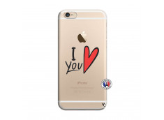 Coque iPhone 6 Plus/6s Plus I Love You