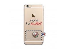 Coque iPhone 6 Plus/6s Plus Je peux pas j'ai Handball