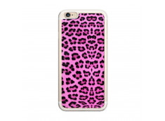 Coque iPhone 6 Plus/6s Plus Pink Leopard Translu