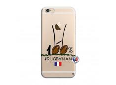 Coque iPhone 6 Plus/6s Plus 100 % Rugbyman Entre les Poteaux