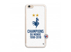 Coque iPhone 6/6S Champion Du Monde Translu