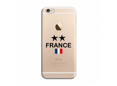 Coque iPhone 6/6S France 2 Etoiles