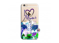 Coque iPhone 6/6S I Love Miami