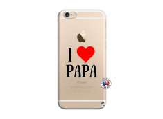 Coque iPhone 6/6S I Love Papa