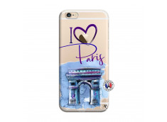 Coque iPhone 6/6S I Love Paris Arc Triomphe