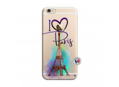 Coque iPhone 6/6S I Love Paris