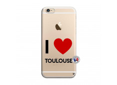 Coque iPhone 6/6S I Love Toulouse