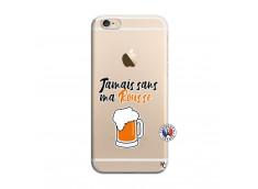 Coque iPhone 6/6S Jamais Sans Ma Rousse