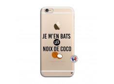 Coque iPhone 6/6S Je m'en bats Les Noix De Coco