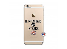 Coque iPhone 6/6S Je M En Bas Les Steaks