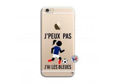 Coque iPhone 6/6S Je Peux Pas J Ai Les Bleues