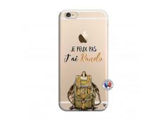 Coque iPhone 6/6S Je Peux Pas J Ai Rando