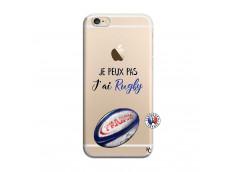 Coque iPhone 6/6S Je Peux Pas J Ai Rugby