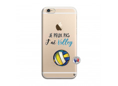 Coque iPhone 6/6S Je Peux Pas J Ai Volley