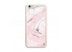 Coque iPhone 6/6S Marbre Rose Translu