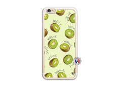 Coque iPhone 6/6S Sorbet Kiwi Translu