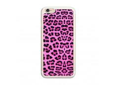 Coque iPhone 6/6S Pink Leopard Translu