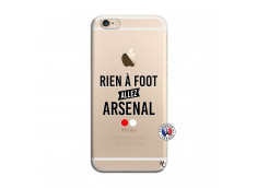 Coque iPhone 6/6S Rien A Foot Allez Arsenal