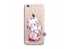 Coque iPhone 6/6S Smoothie Cat
