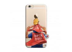 Coque iPhone 6/6S Super Papa et Super Bébé