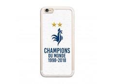 Coque iPhone 6Plus/6SPlus Champions du Monde