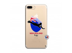 Coque iPhone 7 Plus/8 Plus Coupe du Monde Rugby- Nouvelle Zélande