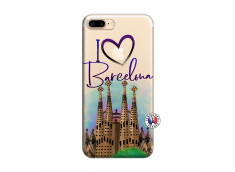 Coque iPhone 7 Plus/8 Plus I Love Barcelona