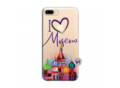 Coque iPhone 7 Plus/8 Plus I Love Moscow