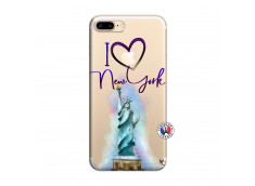 Coque iPhone 7 Plus/8 Plus I Love New York