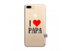 Coque iPhone 7 Plus/8 Plus I Love Papa