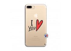 Coque iPhone 7 Plus/8 Plus I Love You