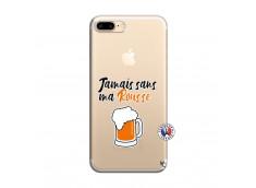 Coque iPhone 7 Plus/8 Plus Jamais Sans Ma Rousse
