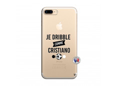 Coque iPhone 7 Plus/8 Plus Je Dribble Comme Cristiano