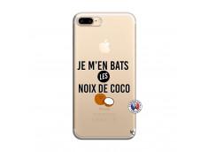 Coque iPhone 7 Plus/8 Plus Je m'en bats Les Noix De Coco