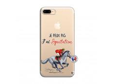 Coque iPhone 7 Plus/8 Plus Je Peux Pas J Ai Equitation