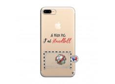 Coque iPhone 7 Plus/8 Plus Je peux pas j'ai Handball