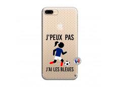 Coque iPhone 7 Plus/8 Plus Je Peux Pas J Ai Les Bleues Maillot