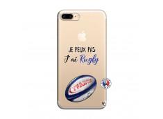 Coque iPhone 7 Plus/8 Plus Je Peux Pas J Ai Rugby