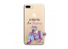 Coque iPhone 7 Plus/8 Plus Je Peux Pas J Ai Shopping