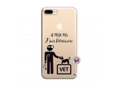 Coque iPhone 7 Plus/8 Plus Je Peux Pas Je Suis Veterinaire