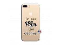 Coque iPhone 7 Plus/8 Plus Je Suis Un Papa Qui Dechire