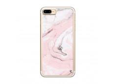 Coque iPhone 7 Plus/8 Plus Marbre Rose Translu